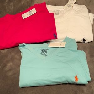 Set of Men's Polo T-Shirts XL